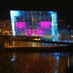 The Ars Electronica Center in Linz/Upper Austria